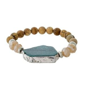 Jewelry - Natural Stone Stretch Bracelet